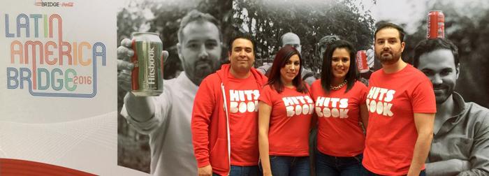 hitsbook esta siendo impulsada por latin america bridge coca cola