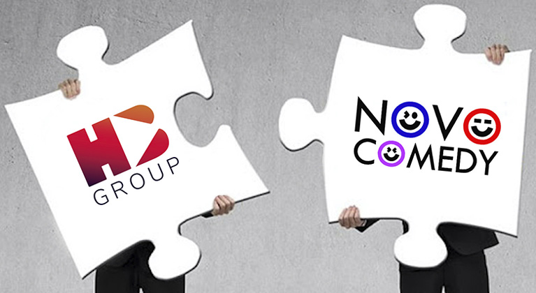Novocomedy and Hits Book sign strategic agreement